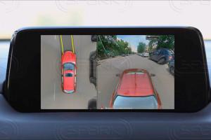 Система кругового обзора для Mazda CX-5