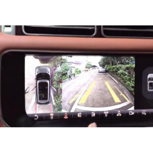 Установка системы кругового обзора для Range Rover