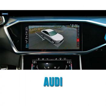 Cистема кругового обзора автомобиля сПАРК-BDV-360-R для Audi со встроенным видеоинтерфейсом, с функцией видеорегистратора