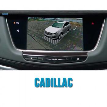 Штатная система кругового обзора автомобиля сПАРК-BDV-360-R для Cadillac со встроенным видеоинтерфейсом, с функцией видеорегистратора