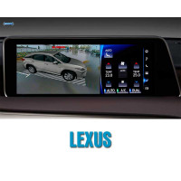 Штатная система кругового обзора автомобиля сПАРК-BDV-360-R для Lexus со встроенным видеоинтерфейсом, с функцией видеорегистратора