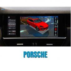Штатная система кругового обзора автомобиля сПАРК-BDV-360-R для Porsche со встроенным видеоинтерфейсом, с функцией видеорегистратора