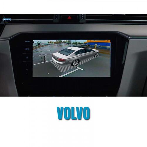 Штатная система кругового обзора автомобиля сПАРК-BDV-360-R для Volvo со встроенным видеоинтерфейсом, с функцией видеорегистратора