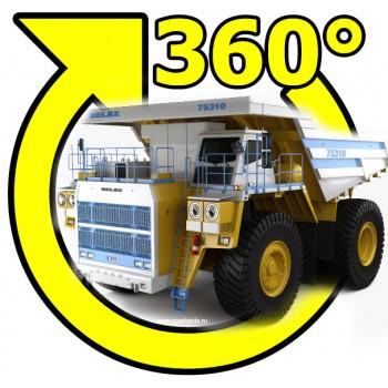 Система кругового обзора сПАРК BDVR-360-4 для Белаз  и Caterpillar , Bird view 360 для карьерной техники с регистратором