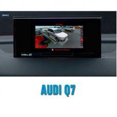 Штатная интеллектуальная 3D система кругового обзора автомобиля сПАРК-BDV-360-R для Audi Q7, с функцией видеорегистратора