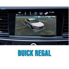 Штатная интеллектуальная 3D система кругового обзора автомобиля сПАРК-BDV-360-R для Buick Regal, с функцией видеорегистратора