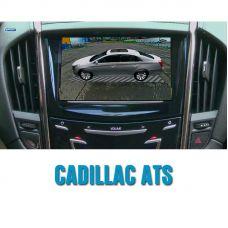 Штатная интеллектуальная 3D система кругового обзора автомобиля сПАРК-BDV-360-R для Cadillac ATS, с функцией видеорегистратора