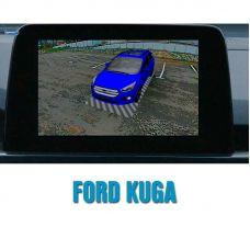 Система кругового обзора автомобиля сПАРК-BDV-360-R для Ford Kuga, с функцией видеорегистратора