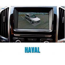 Штатная интеллектуальная 3D система кругового обзора автомобиля сПАРК-BDV-360-R для Haval, с функцией видеорегистратора