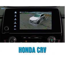 Штатная интеллектуальная 3D система кругового обзора автомобиля сПАРК-BDV-360-R для Honda CRV, с функцией видеорегистратора