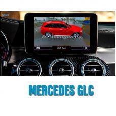 Штатная интеллектуальная 3D система кругового обзора автомобиля сПАРК-BDV-360-R для Mercedes-Benz GLC class, с функцией видеорегистратора