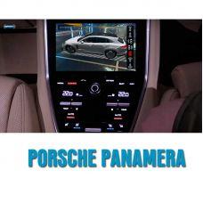 Штатная интеллектуальная 3D система кругового обзора автомобиля сПАРК-BDV-360-R для Porsche Panamera, с функцией видеорегистратора
