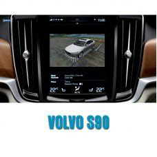 Штатная интеллектуальная 3D система кругового обзора автомобиля сПАРК-BDV-360-R для Volvo S90, с функцией видеорегистратора