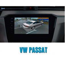 Штатная интеллектуальная 3D система кругового обзора автомобиля сПАРК-BDV-360-R для Volkswagen Passat , с функцией видеорегистратора