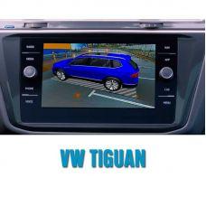 Штатная интеллектуальная 3D система кругового обзора автомобиля сПАРК-BDV-360-R для Volkswagen Tiguan, с функцией видеорегистратора