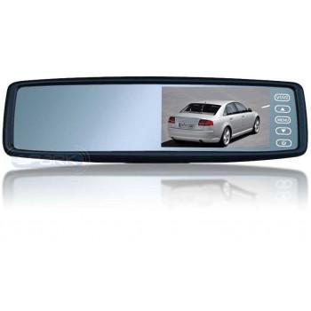 Монитор в зеркале заднего вида под штатную установку сПАРК-438 для Volkswagen