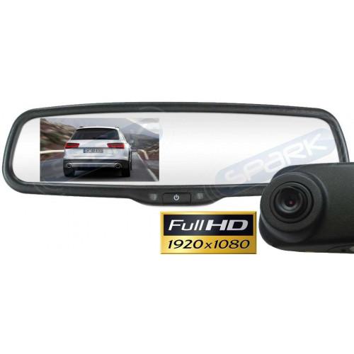 Full HD видеорегистратор в зеркале заднего вида под штатную установку MDVR-437 для Lexus