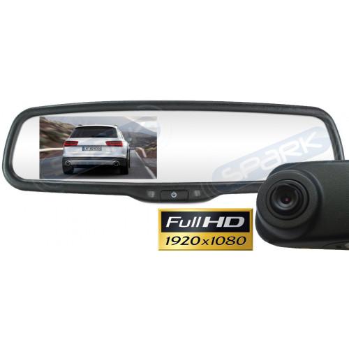 Full HD видеорегистратор в зеркале заднего вида под штатную установку MDVR-437 для Dodge