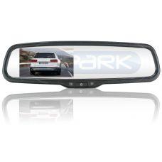 Монитор в зеркале заднего вида под штатную установку сПАРК-436 для Renault
