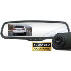 Full HD видеорегистратор в зеркале заднего вида под штатную установку MDVR-437 для Skoda