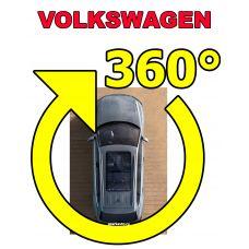 Штатная система кругового обзора автомобиля сПАРК-BDV-360-R для Volkswagen со встроенным видеоинтерфейсом, с функцией видеорегистратора
