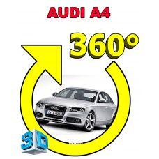 Штатная интеллектуальная 3D система кругового обзора автомобиля сПАРК-BDV-360-R для Audi A4, с функцией видеорегистратора
