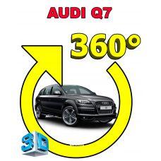 Штатная 3D система кругового обзора автомобиля сПАРК-BDV-360-R для Audi Q7, с функцией видеорегистратора