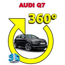 Система кругового обзора автомобиля сПАРК-BDV-360-R для Audi Q7, с функцией видеорегистратора