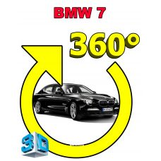 Система кругового обзора автомобиля сПАРК-BDV-360-R для BMW 7 Series V (F01/F02/F04), с функцией видеорегистратора