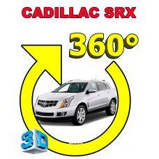 Штатная 3D система кругового обзора автомобиля сПАРК-BDV-360-R для Cadillac SRX II, с функцией видеорегистратора