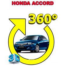 Штатная 3D система кругового обзора автомобиля сПАРК-BDV-360-R для Honda Accord IX, с функцией видеорегистратора