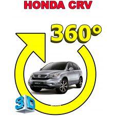 Штатная 3D система кругового обзора автомобиля сПАРК-BDV-360-R для Honda CRV, с функцией видеорегистратора