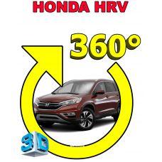 Штатная 3D система кругового обзора автомобиля сПАРК-BDV-360-R для Honda HR-V (Vezel), с функцией видеорегистратора