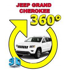 Штатная интеллектуальная 3D система кругового обзора автомобиля сПАРК-BDV-360-R для Jeep Grand Cherokee, с функцией видеорегистратора