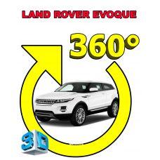 Штатная интеллектуальная 3D система кругового обзора автомобиля сПАРК-BDV-360-R для Land Rover Evoque 16, с функцией видеорегистратора