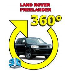 Штатная интеллектуальная 3D система кругового обзора автомобиля сПАРК-BDV-360-R для Land Rover Freelander, с функцией видеорегистратора