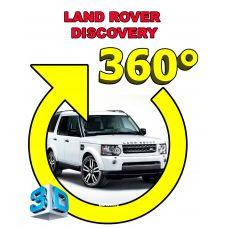 Штатная интеллектуальная 3D система кругового обзора автомобиля сПАРК-BDV-360-R для Land Rover Discovery 4, с функцией видеорегистратора