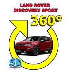 Штатная интеллектуальная 3D система кругового обзора автомобиля сПАРК-BDV-360-R для Land Rover Discovery Sport, с функцией видеорегистратора