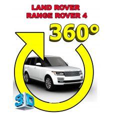 Штатная интеллектуальная 3D система кругового обзора автомобиля сПАРК-BDV-360-R для Range Rover Sport II , с функцией видеорегистратора