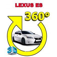 Штатная интеллектуальная 3D система кругового обзора автомобиля сПАРК-BDV-360-R для Lexus ES / IS / GS / CT200H, с функцией видеорегистратора