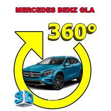 Штатная интеллектуальная 3D система кругового обзора автомобиля сПАРК-BDV-360-R для Mercedes-Benz GLA, с функцией видеорегистратора