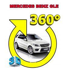 Штатная интеллектуальная 3D система кругового обзора автомобиля сПАРК-BDV-360-R для Mercedes-Benz GLE, с функцией видеорегистратора