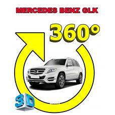 Штатная интеллектуальная 3D система кругового обзора автомобиля сПАРК-BDV-360-R для Mercedes-Benz GLK, с функцией видеорегистратора
