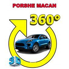 Штатная интеллектуальная 3D система кругового обзора автомобиля сПАРК-BDV-360-R для Porsche Maccan, с функцией видеорегистратора