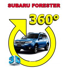Штатная интеллектуальная 3D система кругового обзора автомобиля сПАРК-BDV-360-R для Subaru Forester, с функцией видеорегистратора