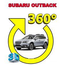 Штатная интеллектуальная 3D система кругового обзора автомобиля сПАРК-BDV-360-R для Subaru Outback , с функцией видеорегистратора