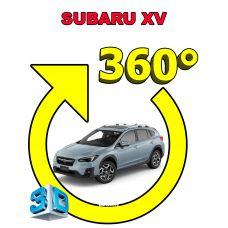 Штатная интеллектуальная 3D система кругового обзора автомобиля сПАРК-BDV-360-R для Subaru XV , с функцией видеорегистратора