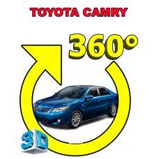 Штатная интеллектуальная 3D система кругового обзора автомобиля сПАРК-BDV-360-R для Toyota Camry, с функцией видеорегистратора