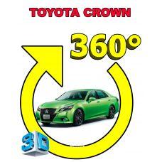 Штатная интеллектуальная 3D система кругового обзора автомобиля сПАРК-BDV-360-R для Toyota Crown, с функцией видеорегистратора