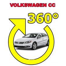 Штатная интеллектуальная 3D система кругового обзора автомобиля сПАРК-BDV-360-R для Volkswagen CC, с функцией видеорегистратора